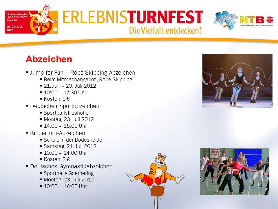 Abzeichen Jump for Fun – Rope-Skipping Abzeichen