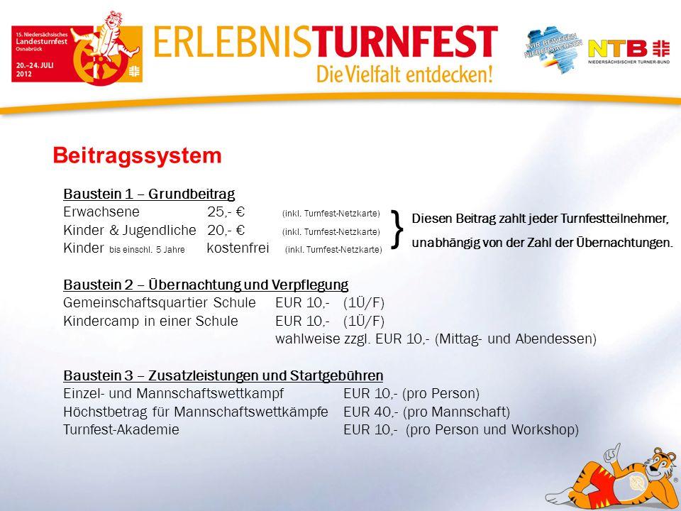 } Beitragssystem Baustein 1 – Grundbeitrag