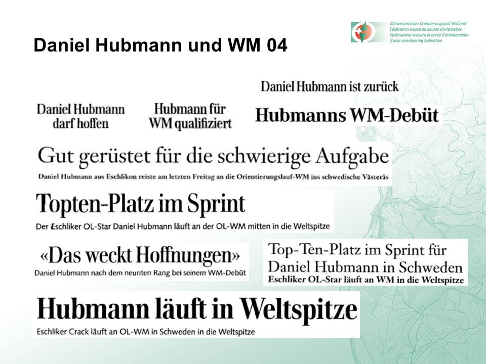 Daniel Hubmann und WM 04