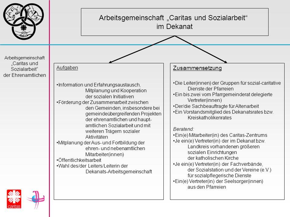 """Arbeitsgemeinschaft """"Caritas und Sozialarbeit"""