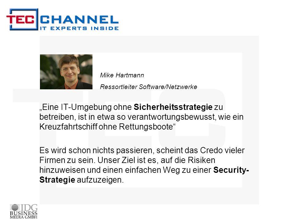 Mike Hartmann Ressortleiter Software/Netzwerke.