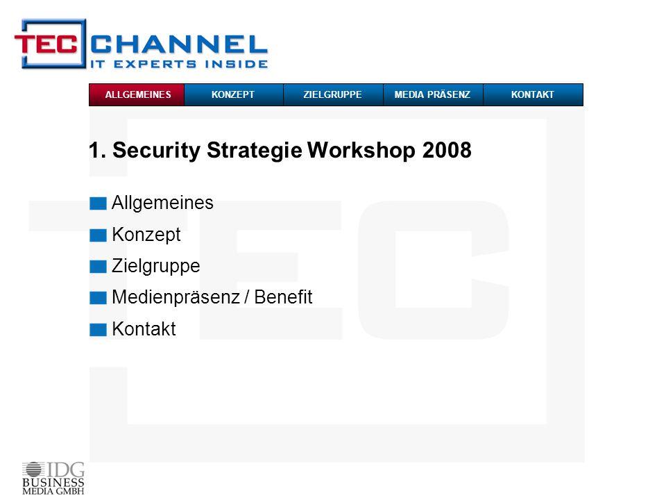 1. Security Strategie Workshop 2008