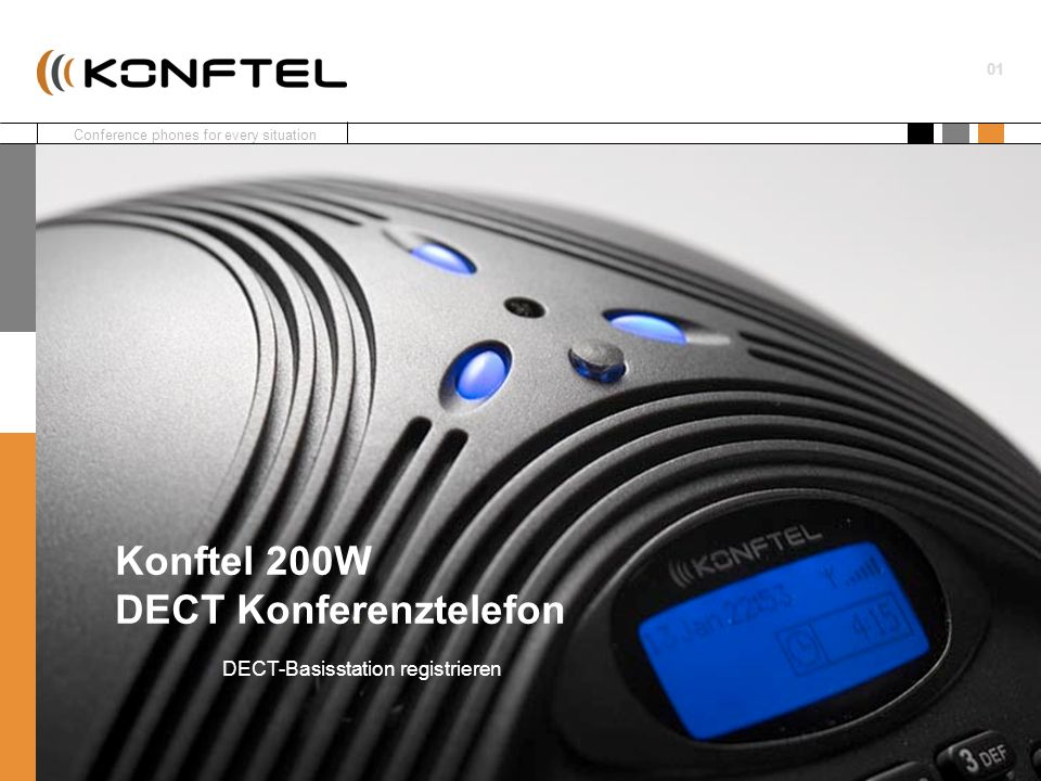 Konftel 200W DECT Konferenztelefon
