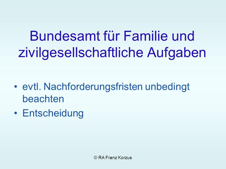Bundesamt für Familie und zivilgesellschaftliche Aufgaben