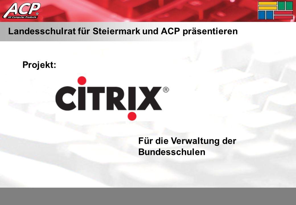 Landesschulrat für Steiermark und ACP präsentieren