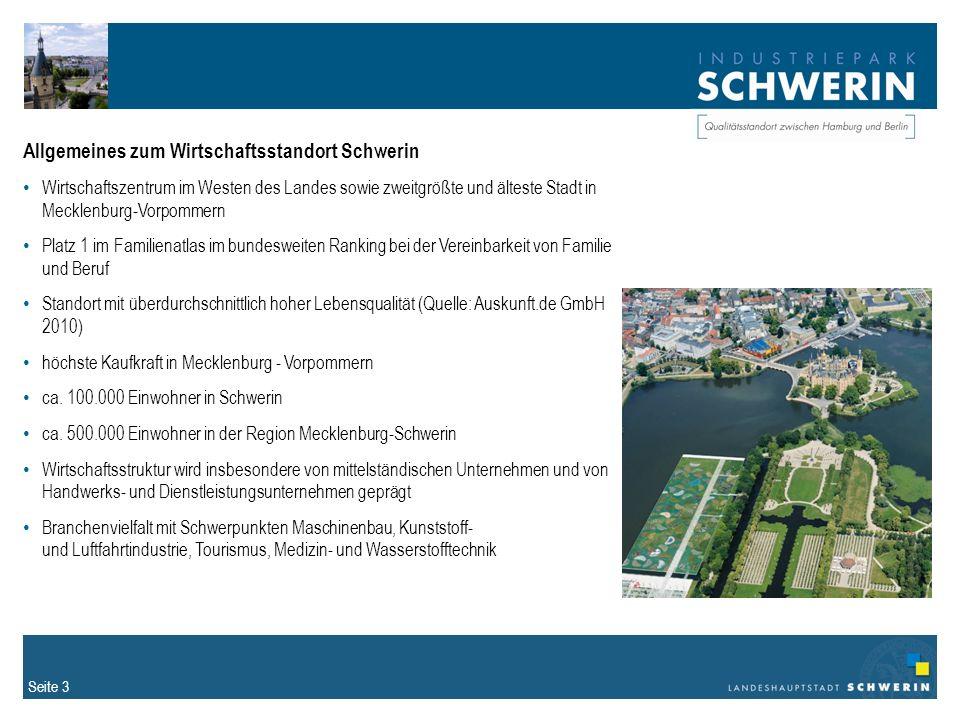 Allgemeines zum Wirtschaftsstandort Schwerin