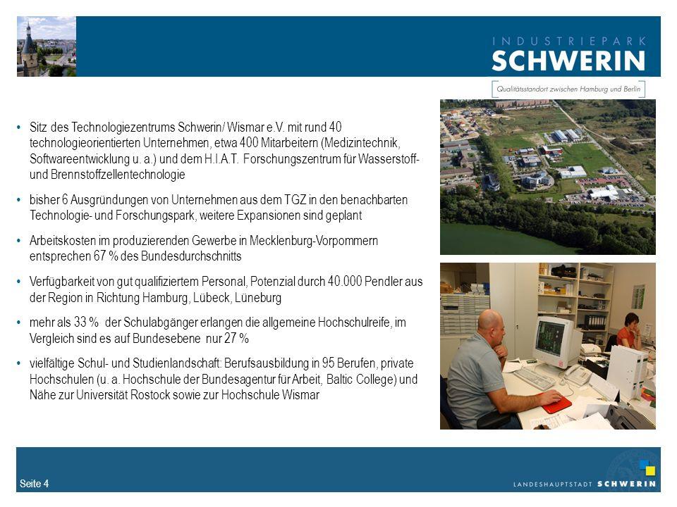 Sitz des Technologiezentrums Schwerin/ Wismar e. V