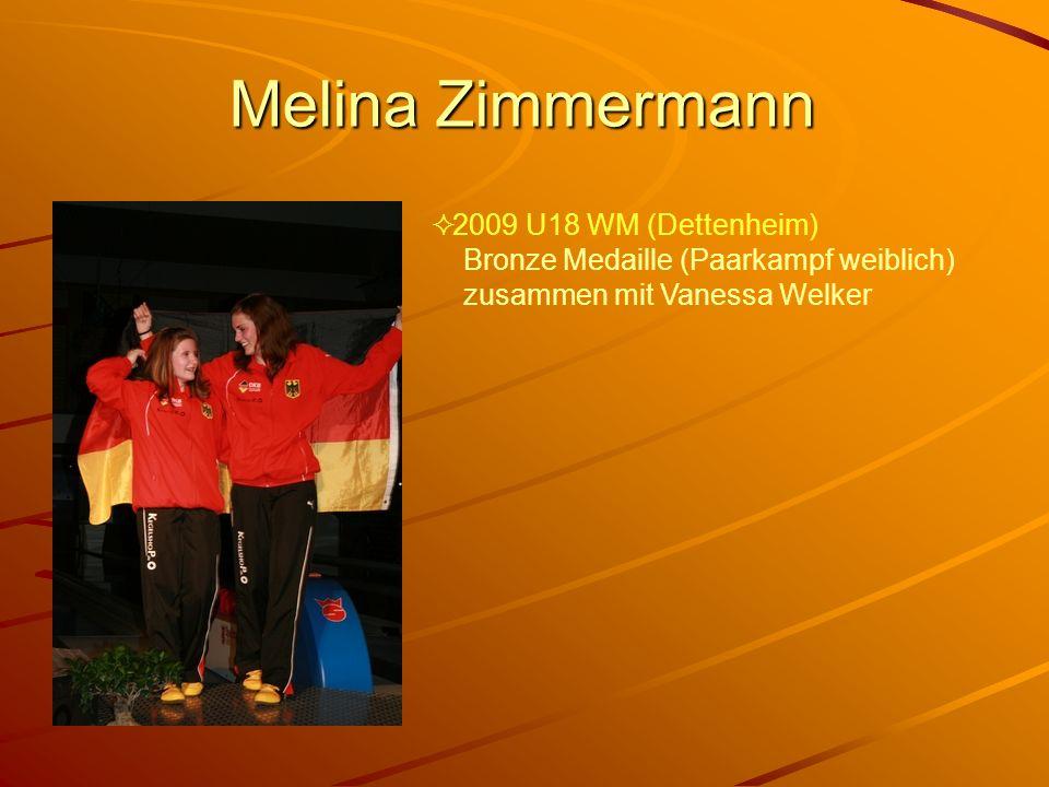 Melina Zimmermann 2009 U18 WM (Dettenheim)