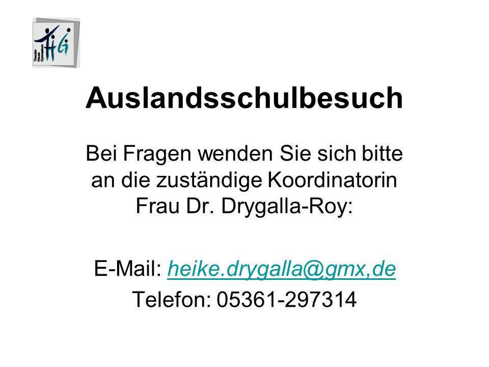 E-Mail: heike.drygalla@gmx,de