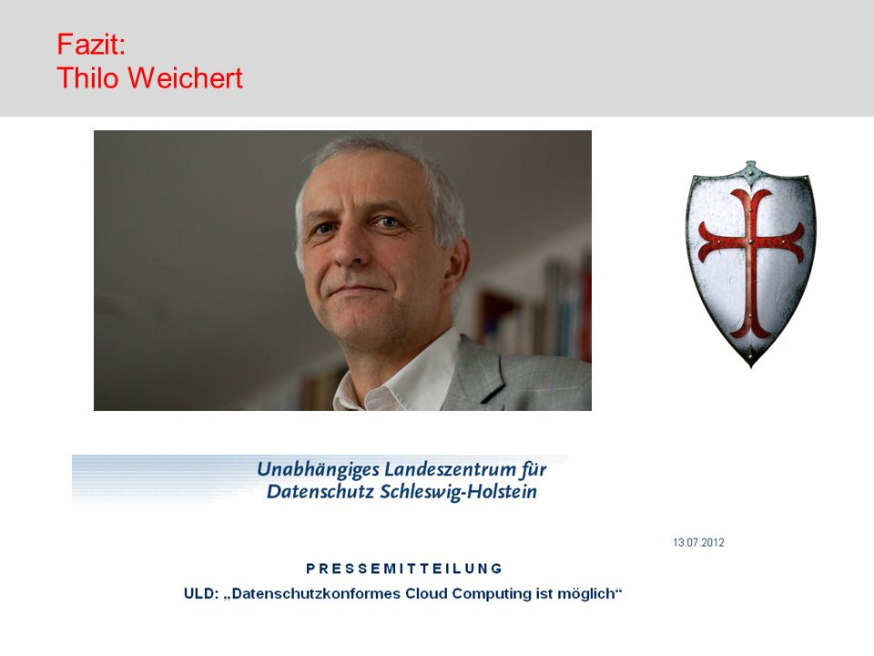 Fazit: Thilo Weichert