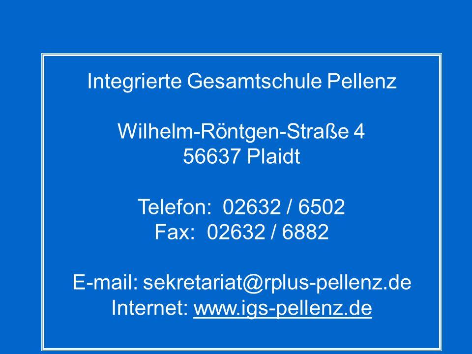Wilhelm-Röntgen-Straße 4 56637 Plaidt Telefon: 02632 / 6502