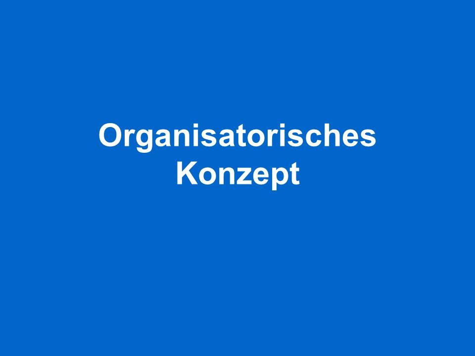 Organisatorisches Konzept