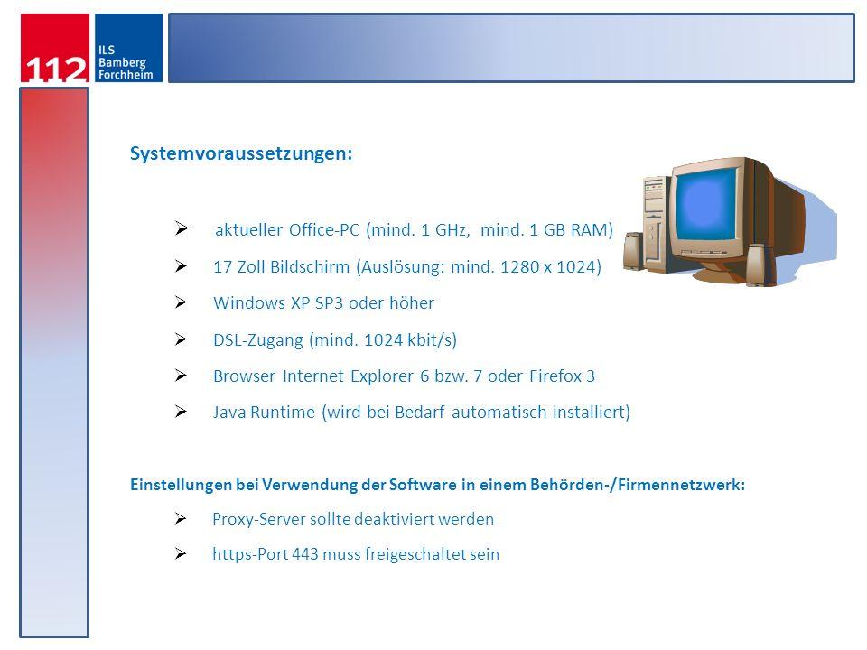 Systemvoraussetzungen:
