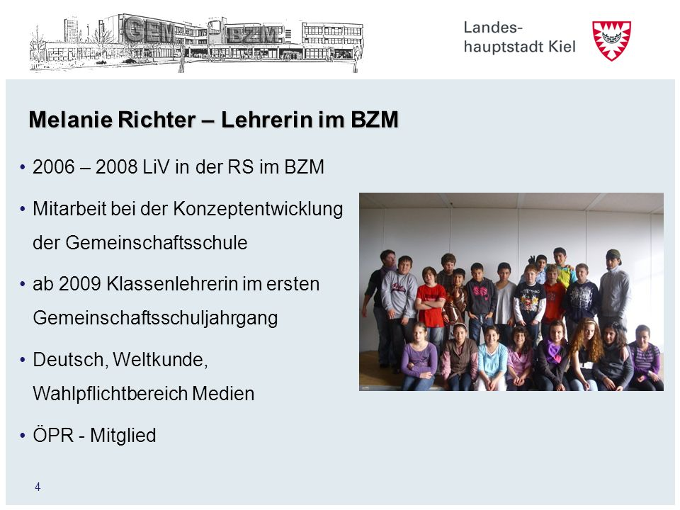 Melanie Richter – Lehrerin im BZM