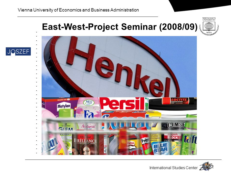 East-West-Project Seminar (2008/09)