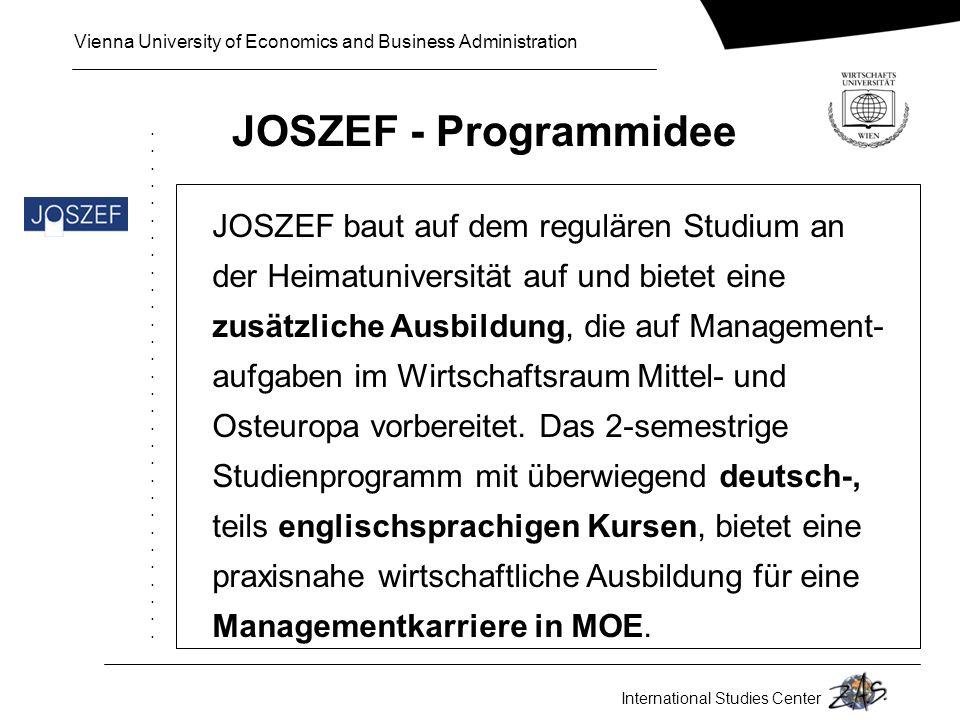 JOSZEF - Programmidee 