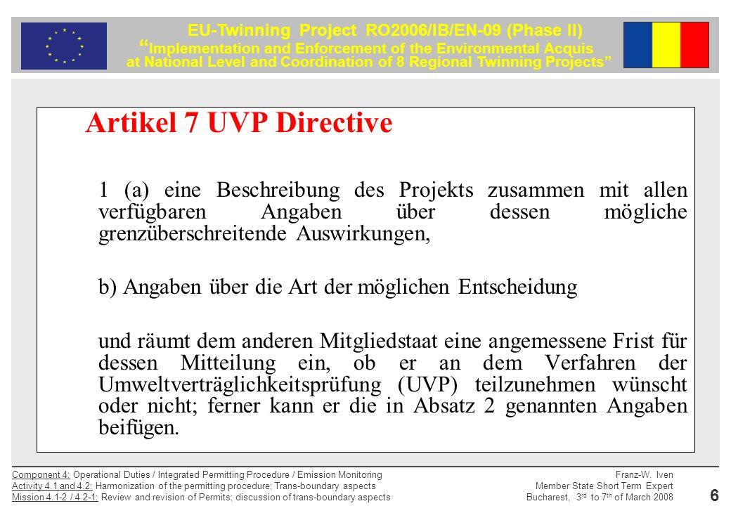 Artikel 7 UVP Directive