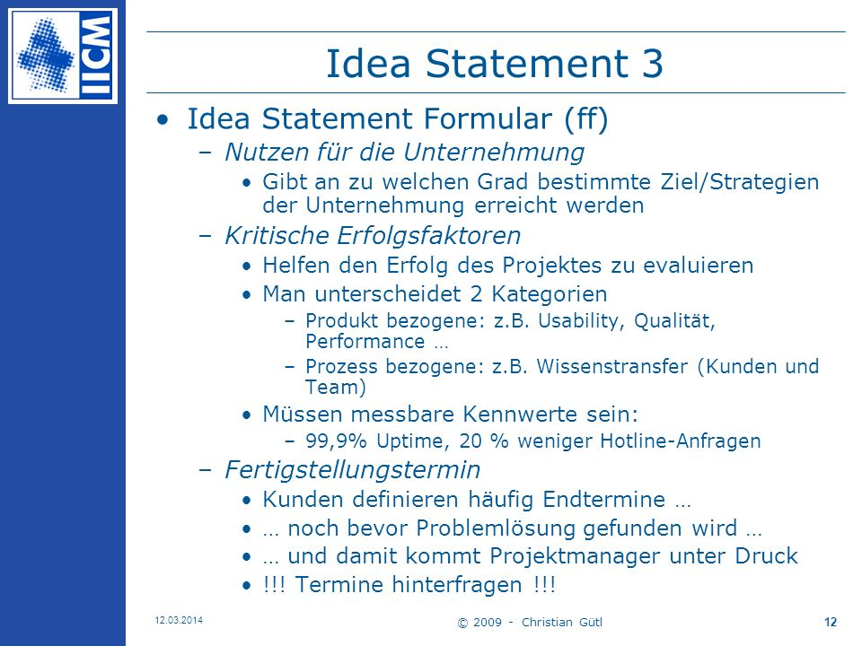Idea Statement 3 Idea Statement Formular (ff)