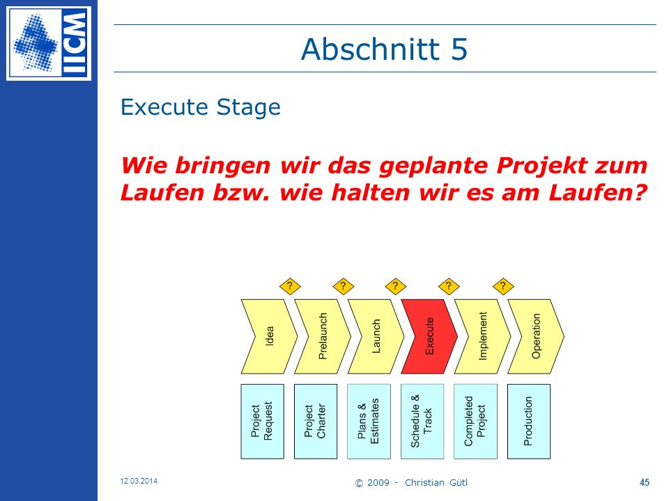 Abschnitt 5 Execute Stage