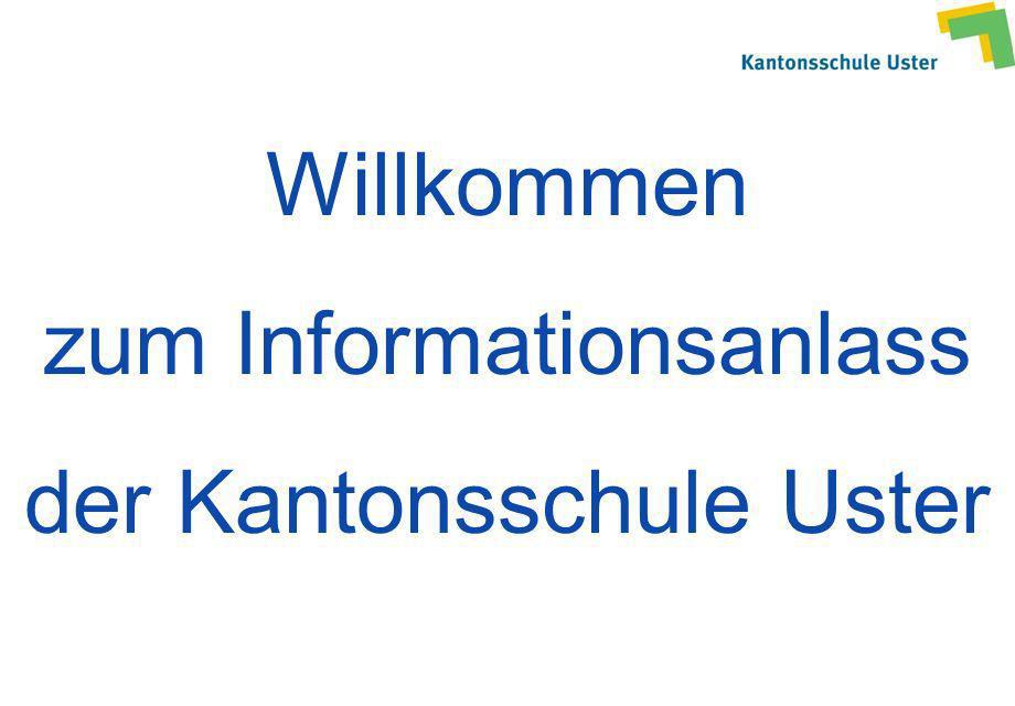 zum Informationsanlass der Kantonsschule Uster