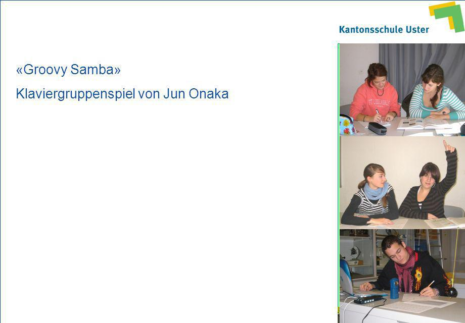 «Groovy Samba» Klaviergruppenspiel von Jun Onaka