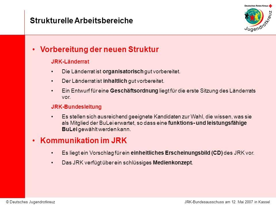 Strukturelle Arbeitsbereiche