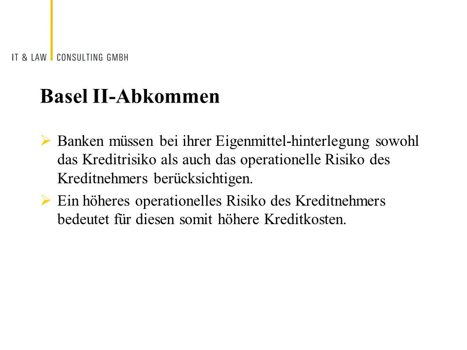 Basel II-Abkommen