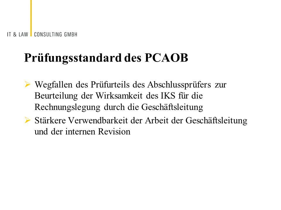 Prüfungsstandard des PCAOB