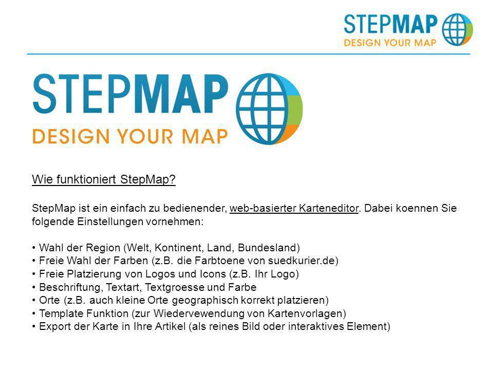 Wie funktioniert StepMap