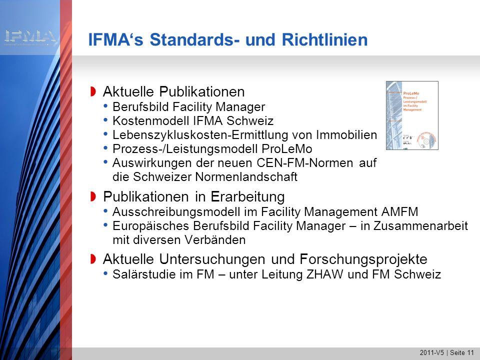 IFMA's Standards- und Richtlinien