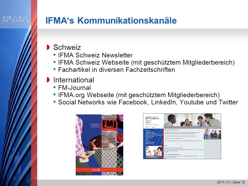 IFMA's Kommunikationskanäle