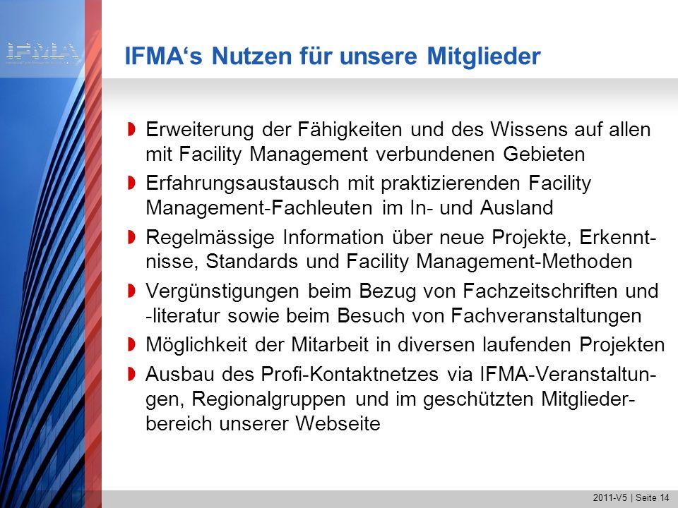 IFMA's Nutzen für unsere Mitglieder
