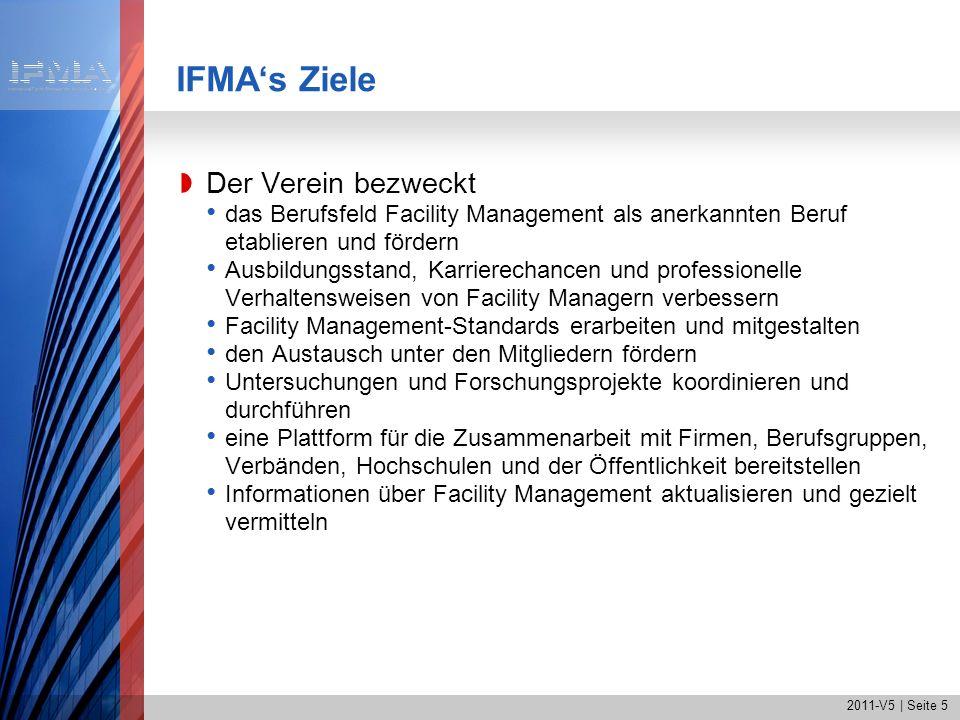 IFMA's Ziele Der Verein bezweckt