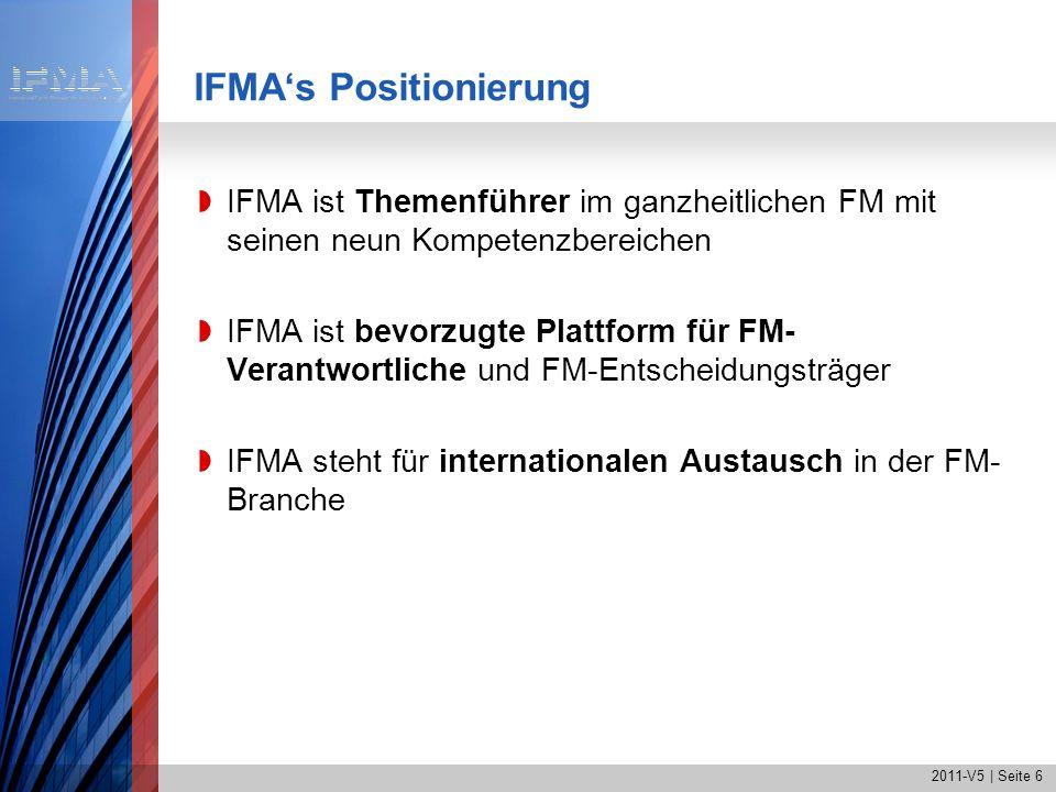 IFMA's Positionierung