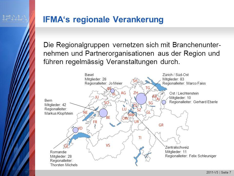IFMA's regionale Verankerung