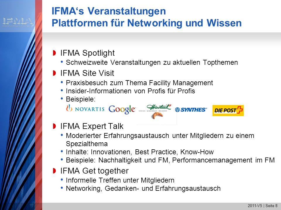 IFMA's Veranstaltungen Plattformen für Networking und Wissen