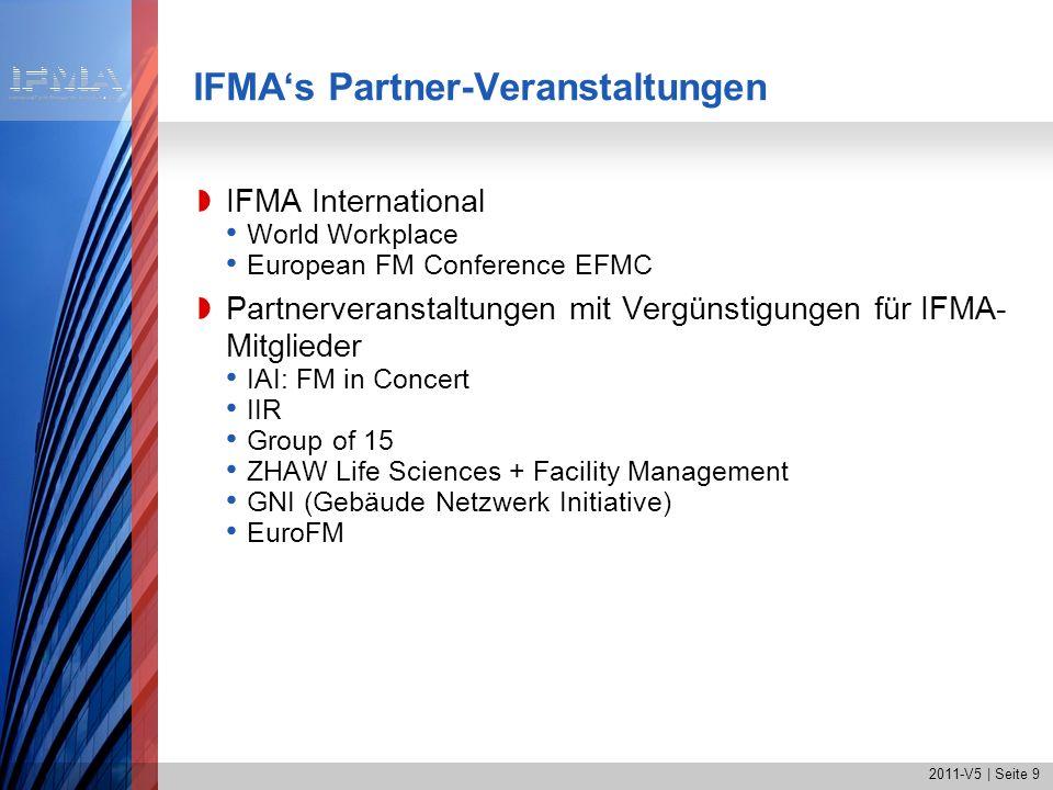 IFMA's Partner-Veranstaltungen