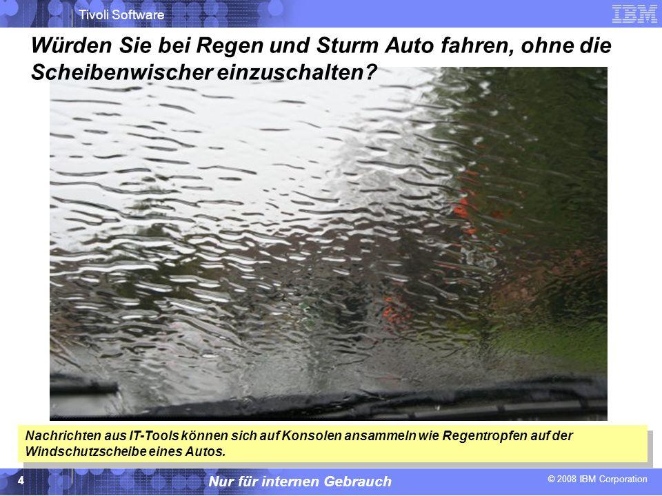 Würden Sie bei Regen und Sturm Auto fahren, ohne die Scheibenwischer einzuschalten
