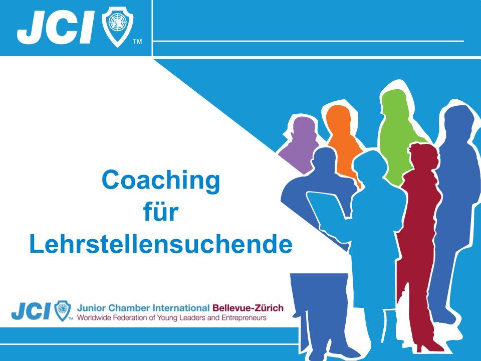 Coaching für Lehrstellensuchende