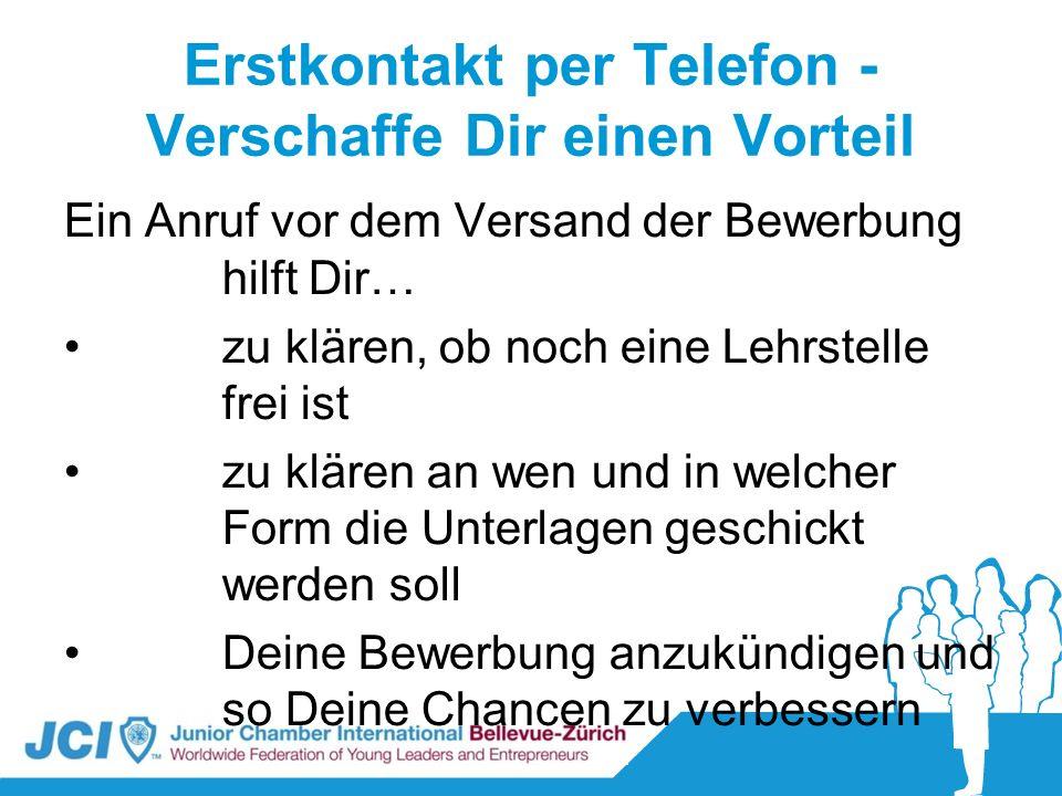 Telefoninterview kennenlernen