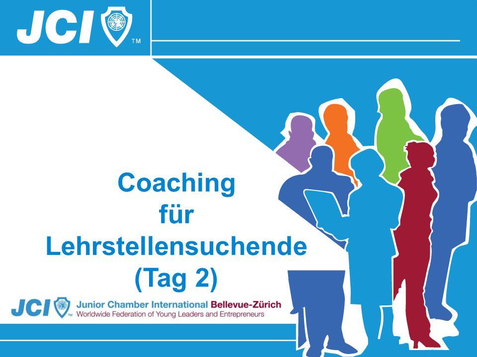 Coaching für Lehrstellensuchende (Tag 2)