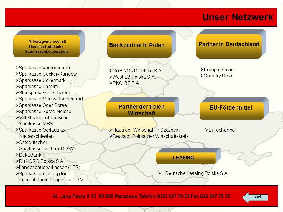 Deutsch-Polnische Sparkassenkooperation Partner der freien Wirtschaft