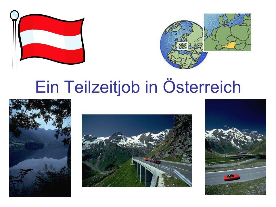 Ein Teilzeitjob in Österreich
