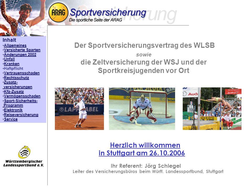 Herzlich willkommen in Stuttgart am 26.10.2006