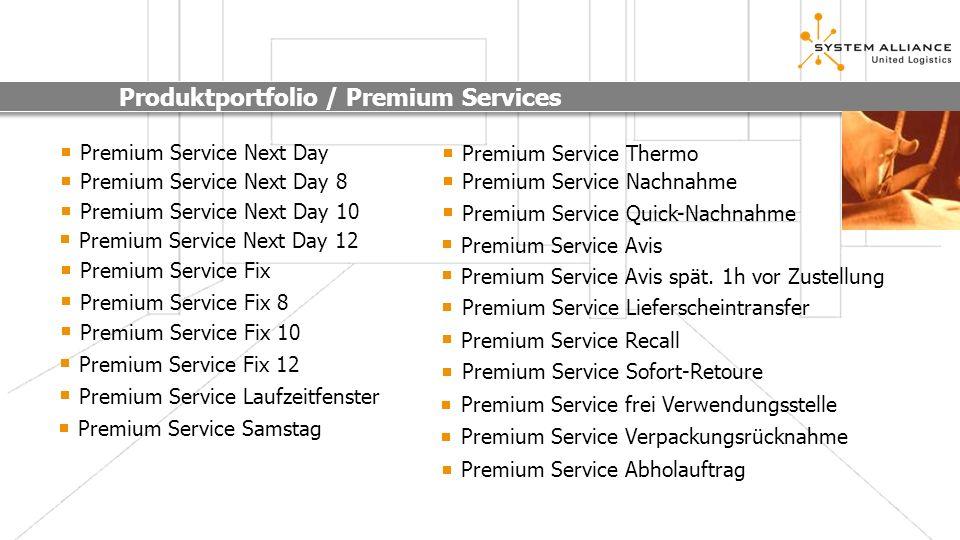 Produktportfolio / Premium Services