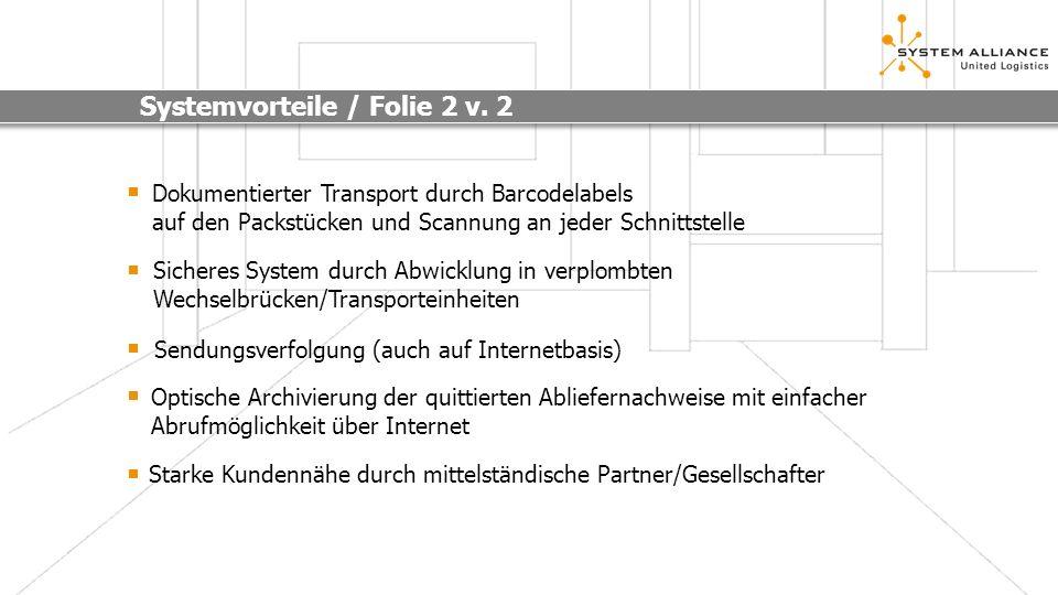 Systemvorteile / Folie 2 v. 2