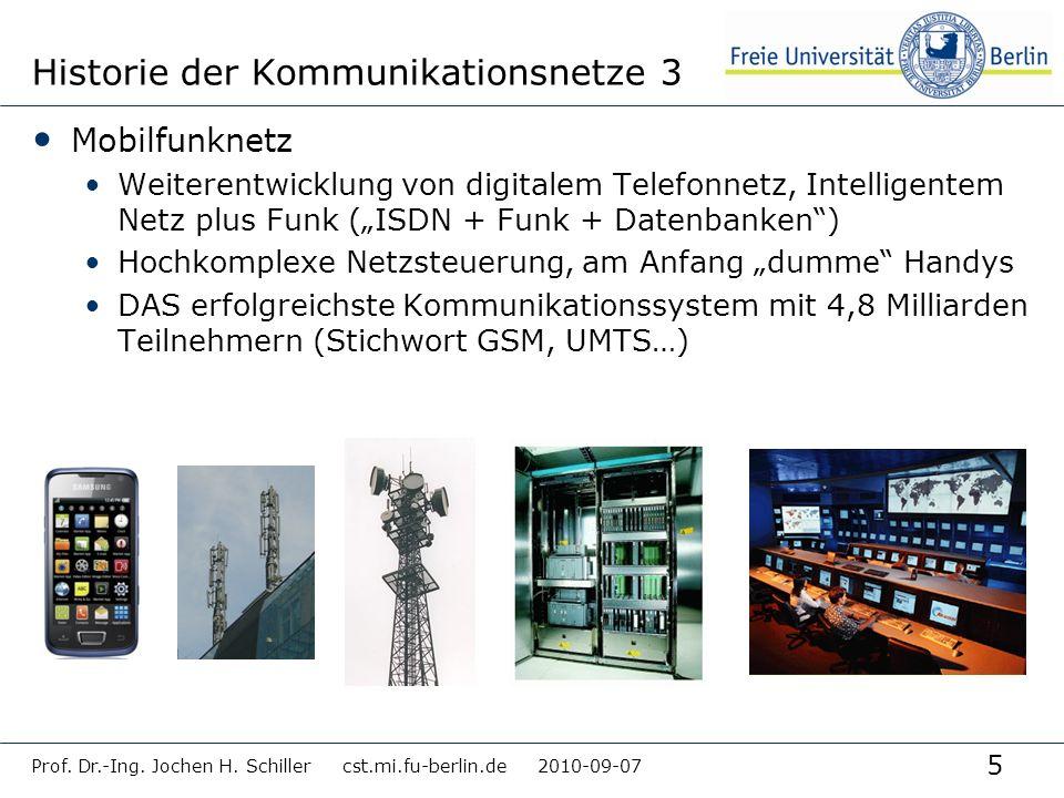 Historie der Kommunikationsnetze 3