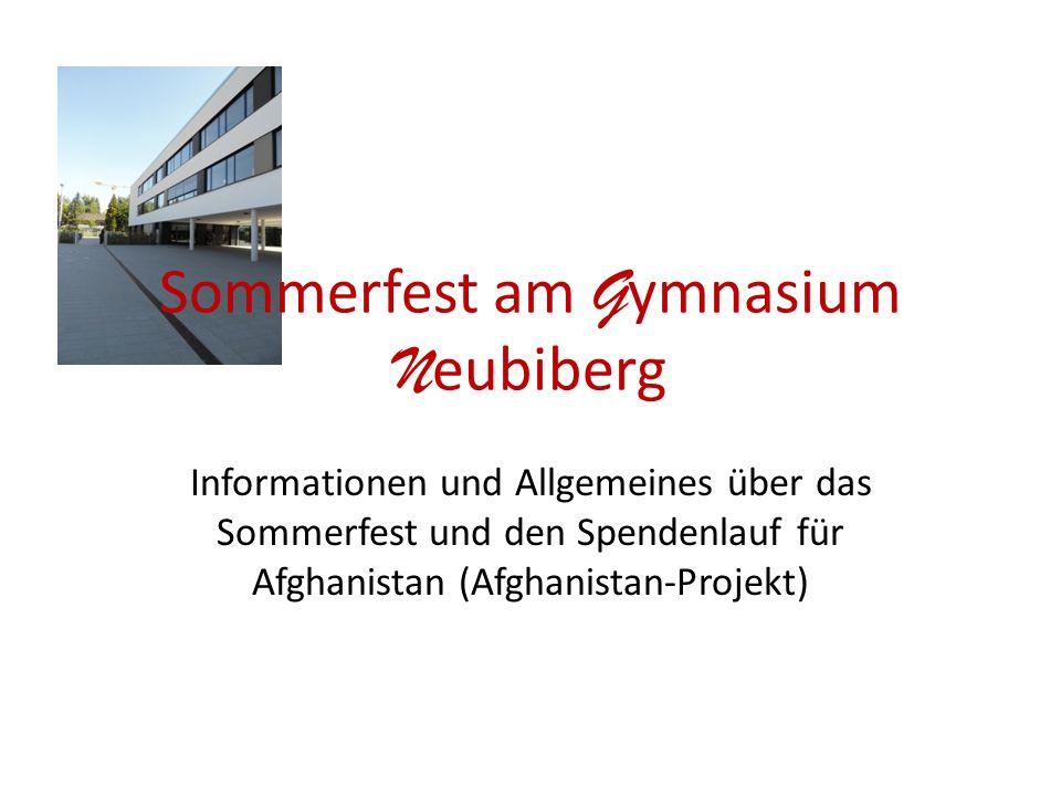Sommerfest am Gymnasium Neubiberg