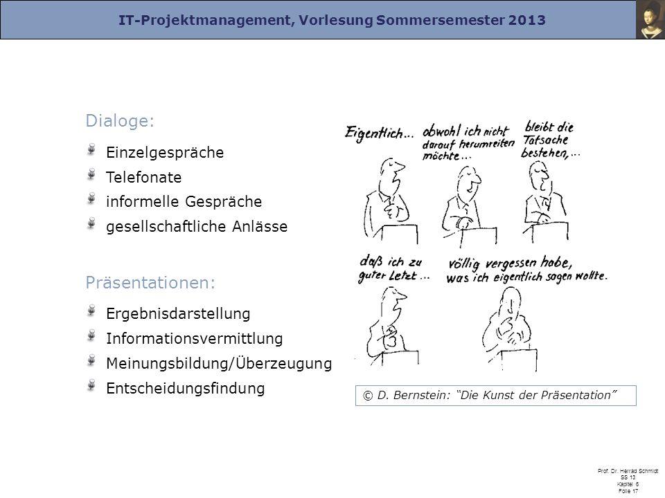 Dialoge: Präsentationen: Einzelgespräche Telefonate