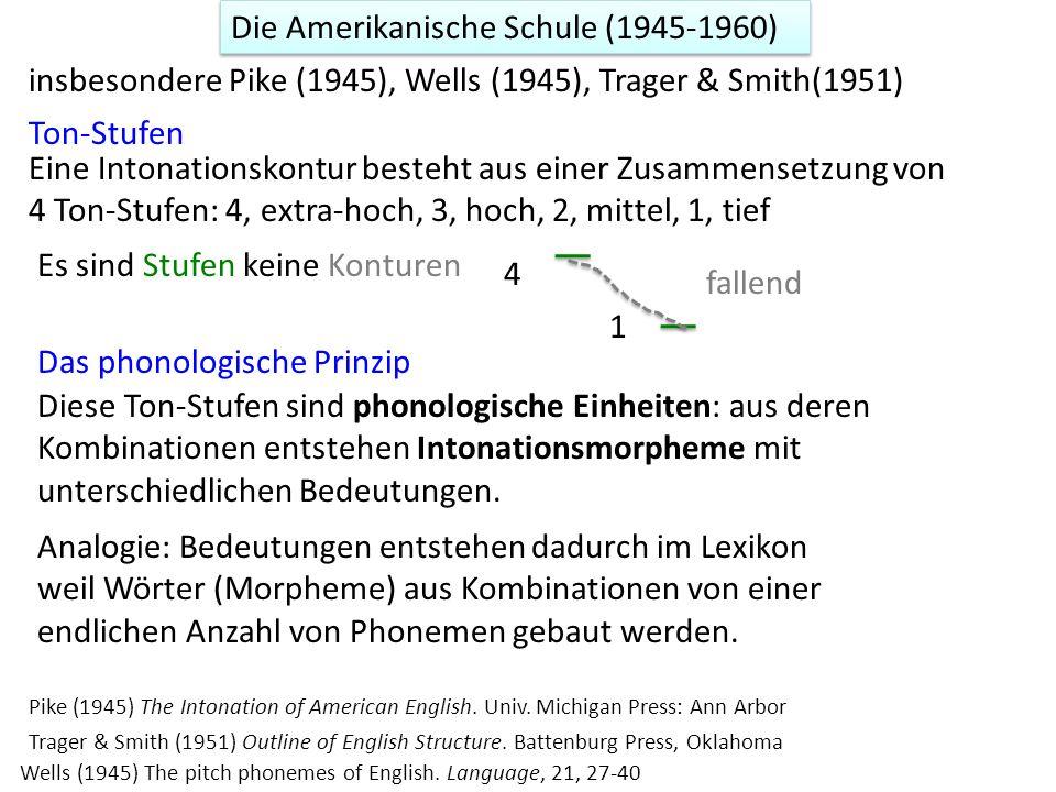 Die Amerikanische Schule (1945-1960)